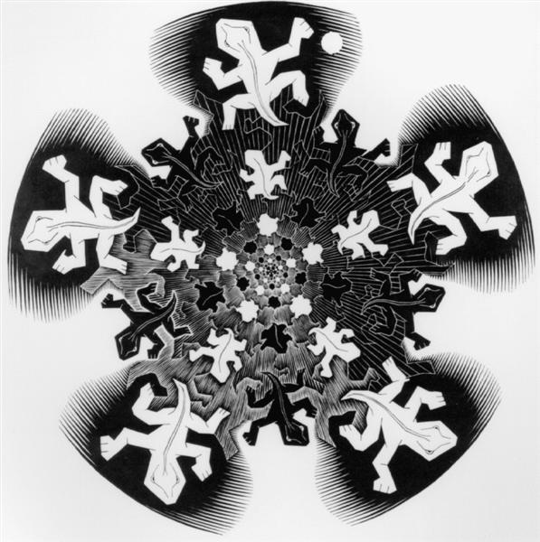 Development II - M.C. Escher