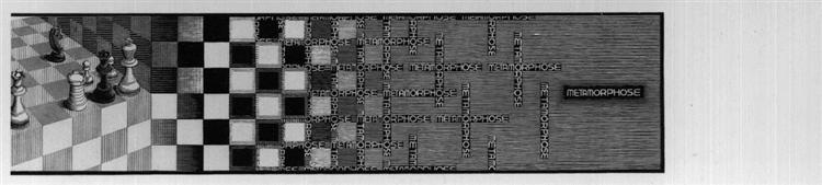 Metamorphosis III excerpt 8, 1967 - 1968 - M.C. Escher