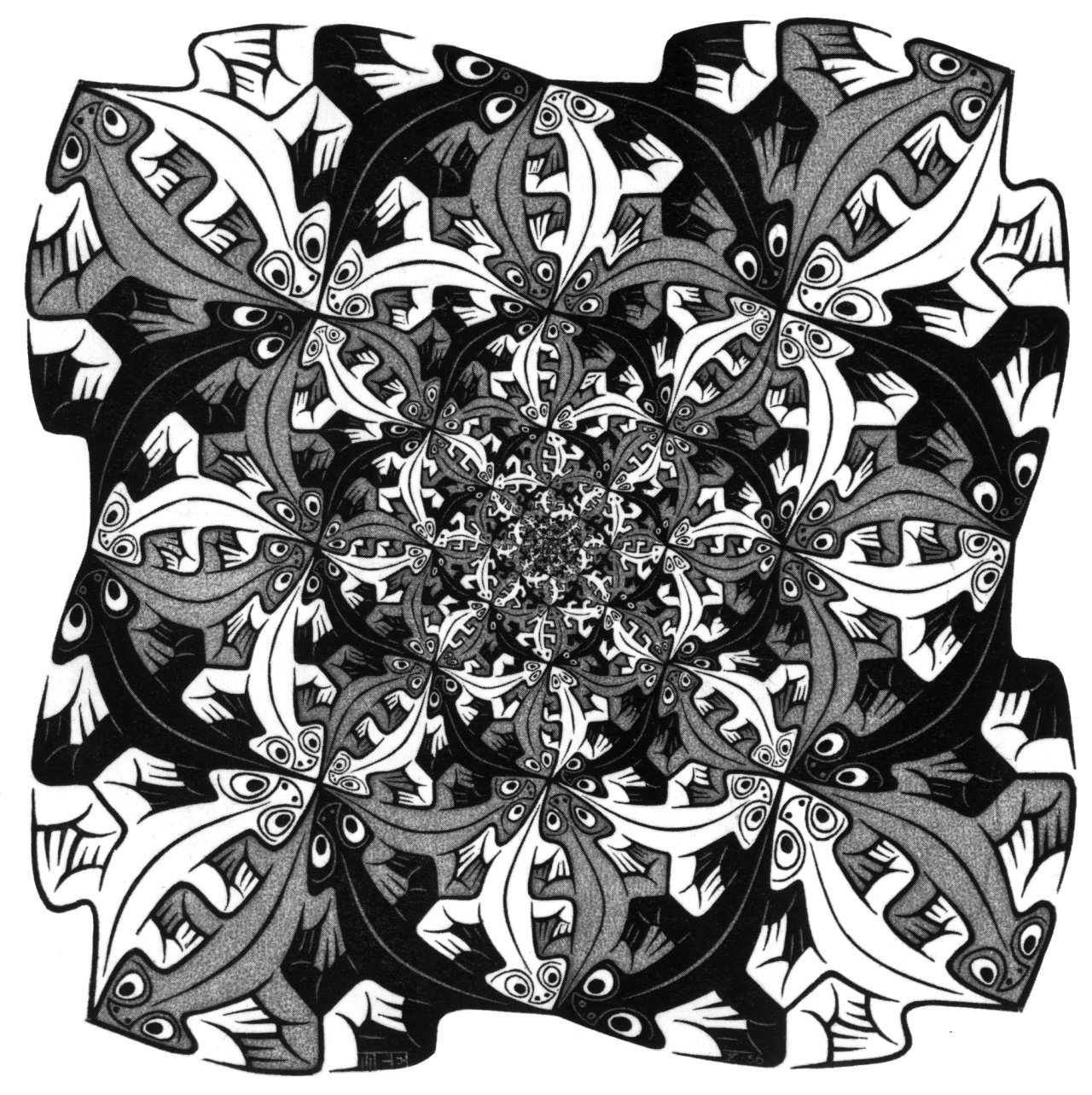m c escher coloring pages - photo #43