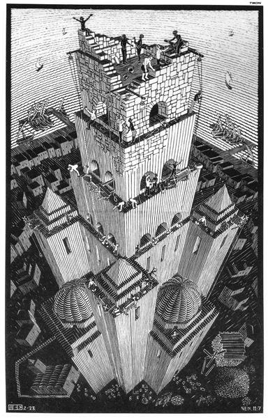 Tower of Babel - Escher M.C.
