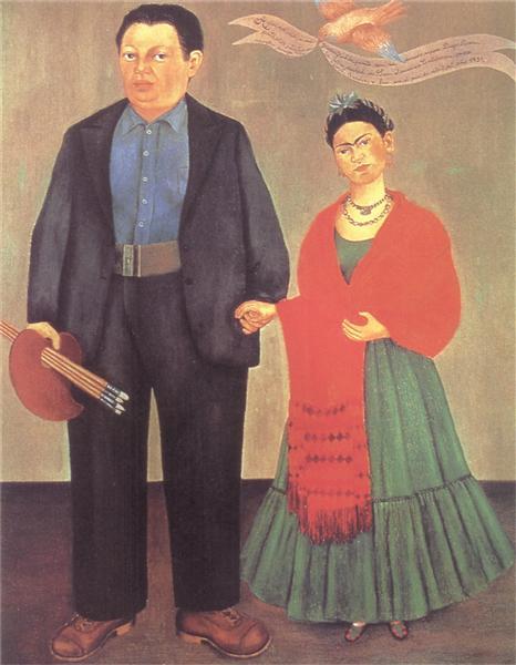 Frieda and Diego Rivera, 1931 - Frida Kahlo