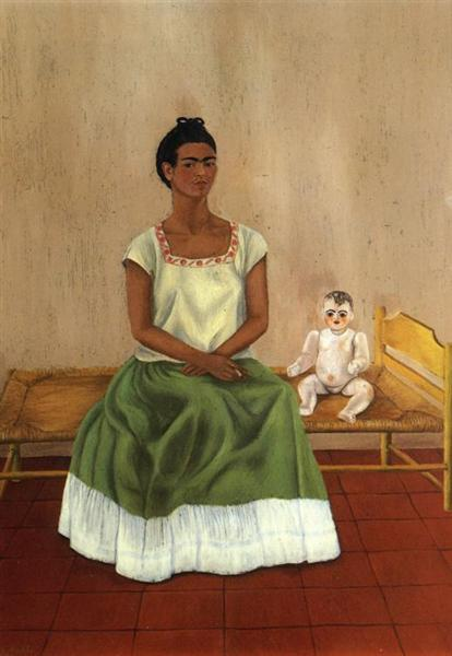 Me and My Doll, 1937 - Frida Kahlo