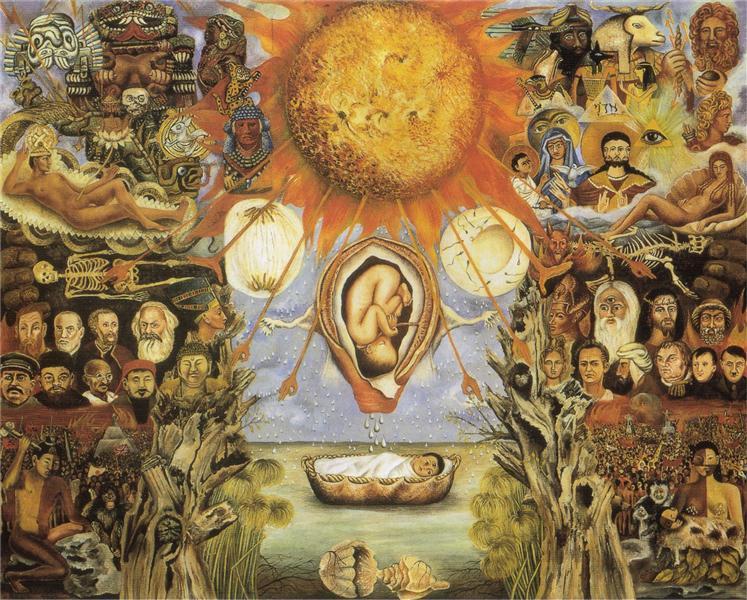 Moses, 1945 - Frida Kahlo