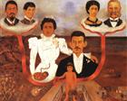 My Grandparents, My Parents and Me - Frida Kahlo