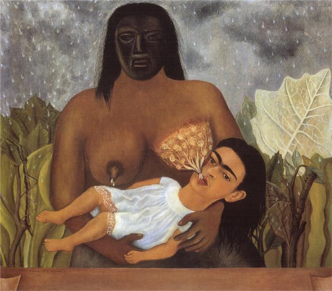 My Nurse and I, 1937 - Frida Kahlo