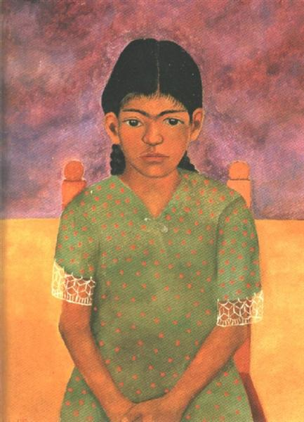 Portrait of Virginia (Little Girl), 1929 - Frida Kahlo