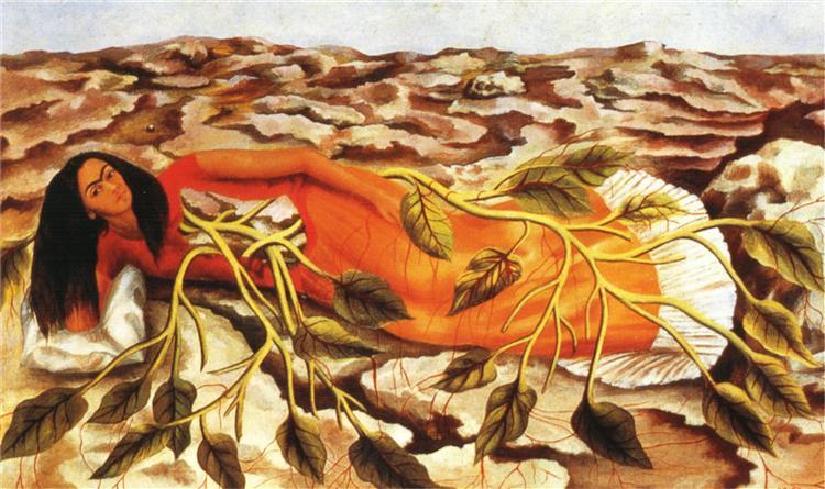 Roots - Frida Kahlo