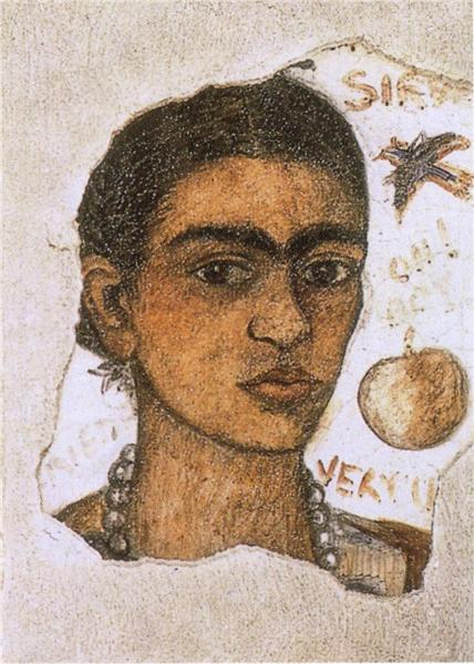 Self- Portrait Very Ugly, 1933 - Frida Kahlo