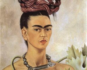 Self Portrait with Braid - Frida Kahlo