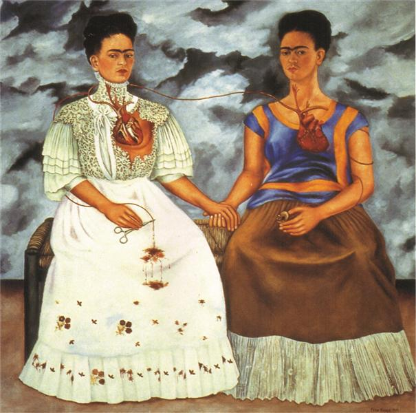 The Two Fridas, 1939 - Frida Kahlo