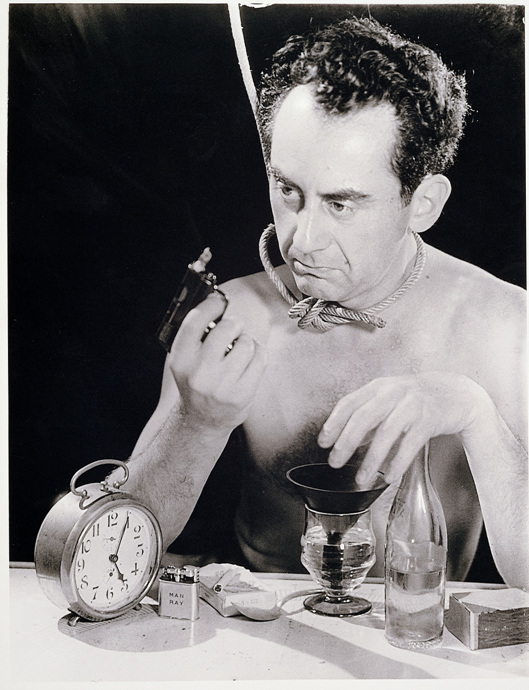 Self-Portrait with Gun - Man Ray - WikiArt.org ...