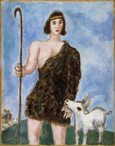 Joseph, a shepherd - Marc Chagall