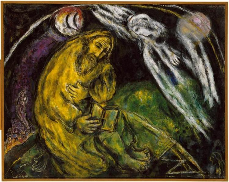 Prophet Jeremiah, 1968 - Marc Chagall