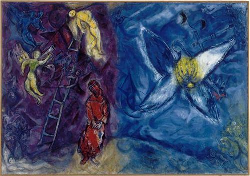 The Jacob's Dream - Marc Chagall