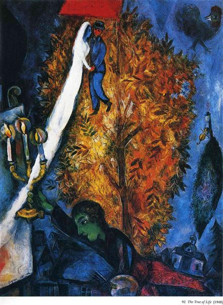 The tree of life, 1948 - Marc Chagall