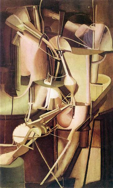 Bride, 1912 - Marcel Duchamp