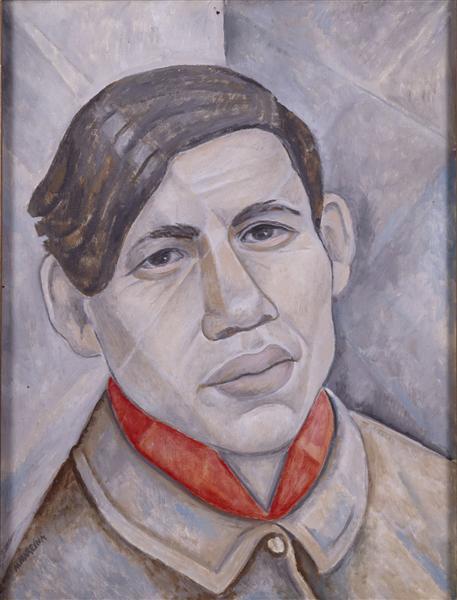 Portrait of Soutine, 1955 - Marevna (Marie Vorobieff)