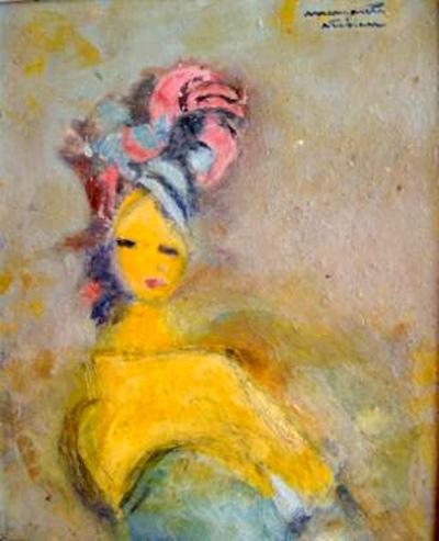 Portrait - Margareta Sterian