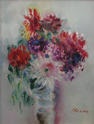 Vase with Flowers - Маргарета Штериан