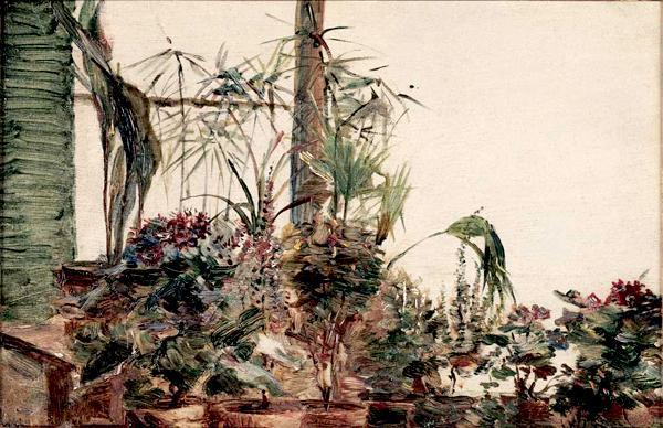 Pots De Fleurs À Sèvres, 1880