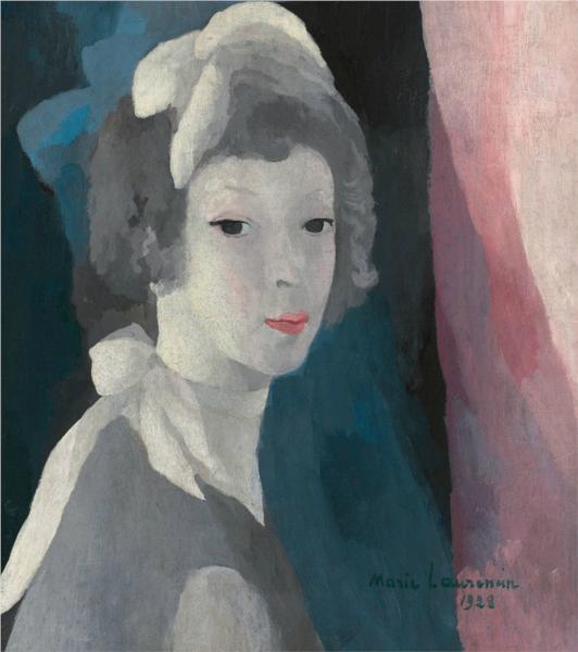Self-Portrait, 1928 - Marie Laurencin