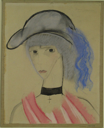 The Blue Plume, 1914 - Marie Laurencin