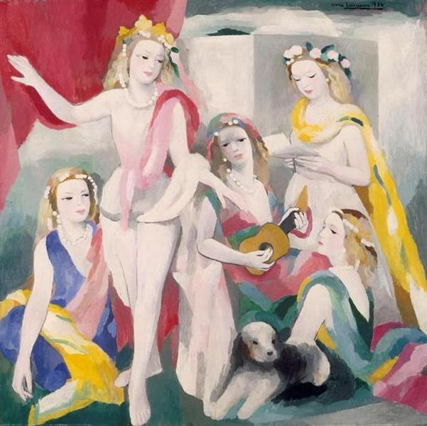 The Rehearsal, 1936 - Marie Laurencin