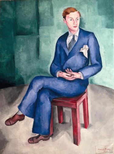 Retrato do bailarino Francis, 1930 - Mario Eloy