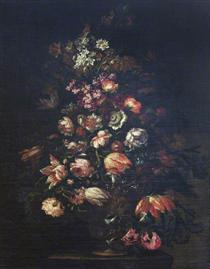 A Flower Piece - Маріо Де Фьйорі