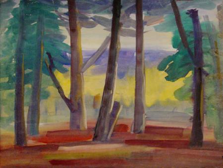 Landscape, 1960 - Маріо Заніні