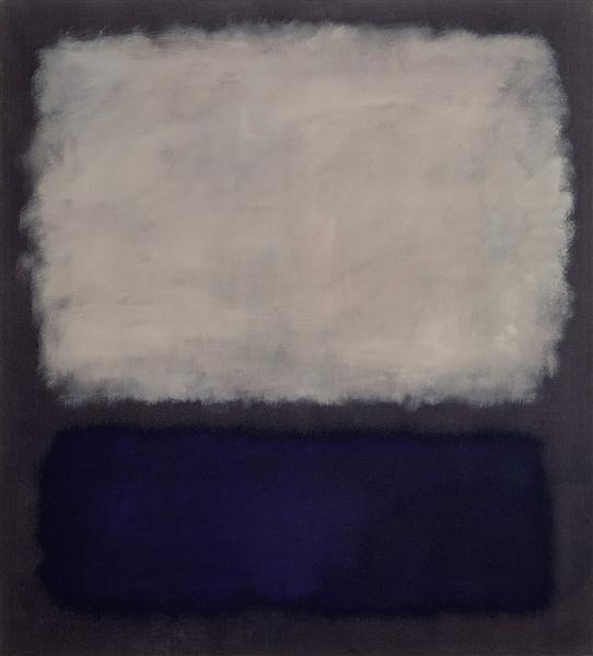 Blue and gray, 1962 - Mark Rothko