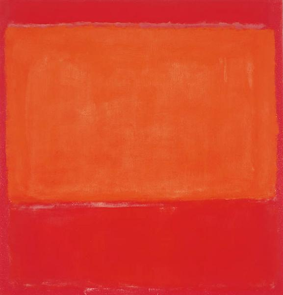 Ochre and Red on Red - Rothko Mark