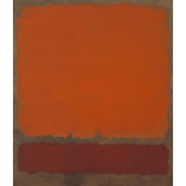 Ochre and Red on Red, 1962 - Mark Rothko