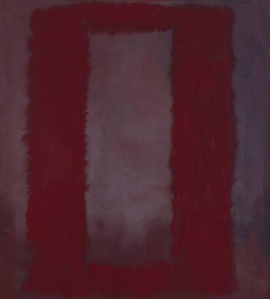 Red on Maroon, 1959 - Mark Rothko