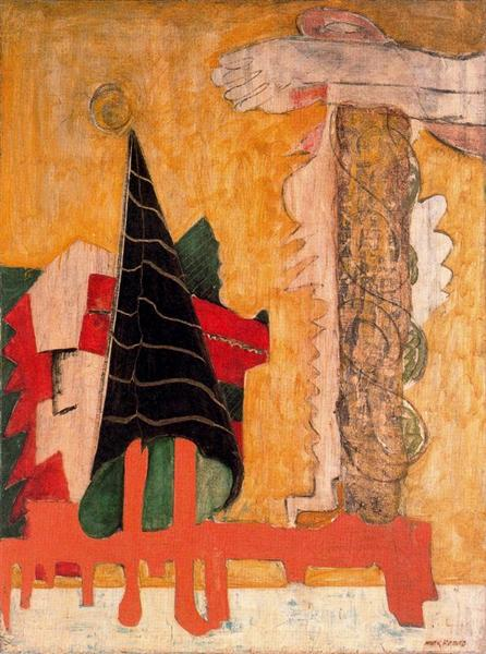 Sacrifice of iphigenia, 1942 - Mark Rothko
