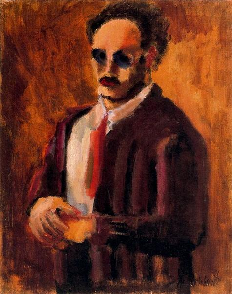 Self-Portrait, 1936 - Mark Rothko