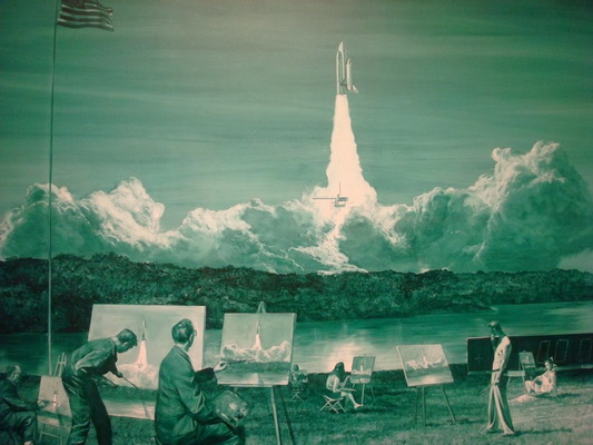 Action Painting II, 1984 - Mark Tansey