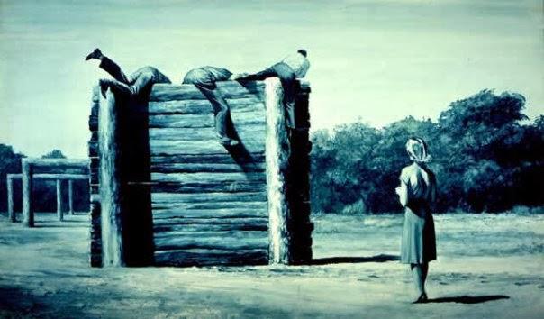 Judgement of Paris, 1982 - Mark Tansey