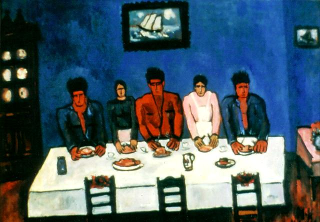 Fisherman's Last Supper, 1941 - Marsden Hartley