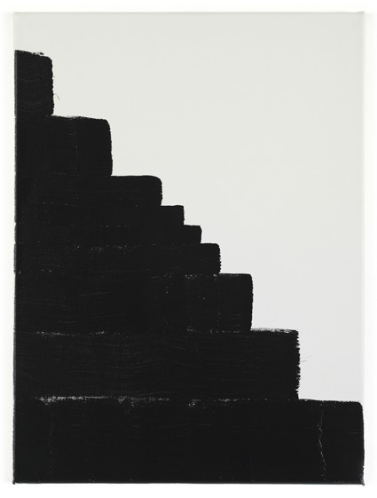 Work No. 508 (Black painting), 2006 - Martin Creed
