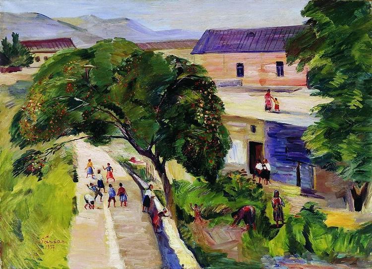 July, 1937 - Martiros Sarian
