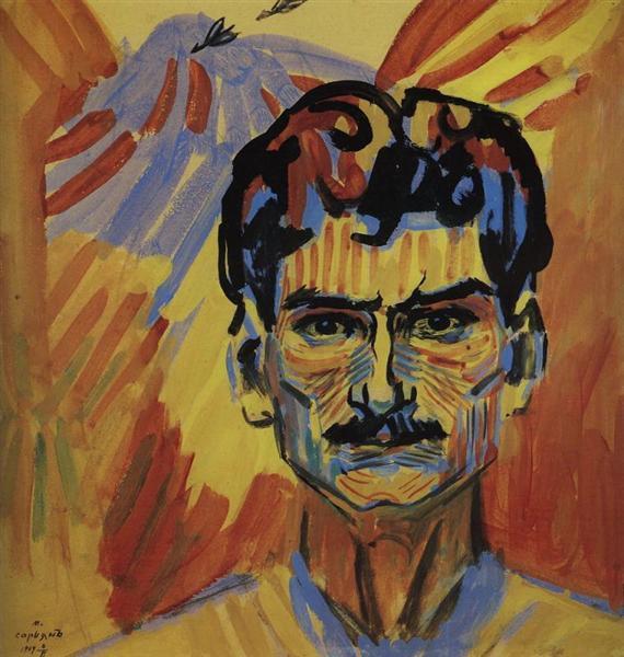 Self-portrait, 1909 - Martiros Sarian