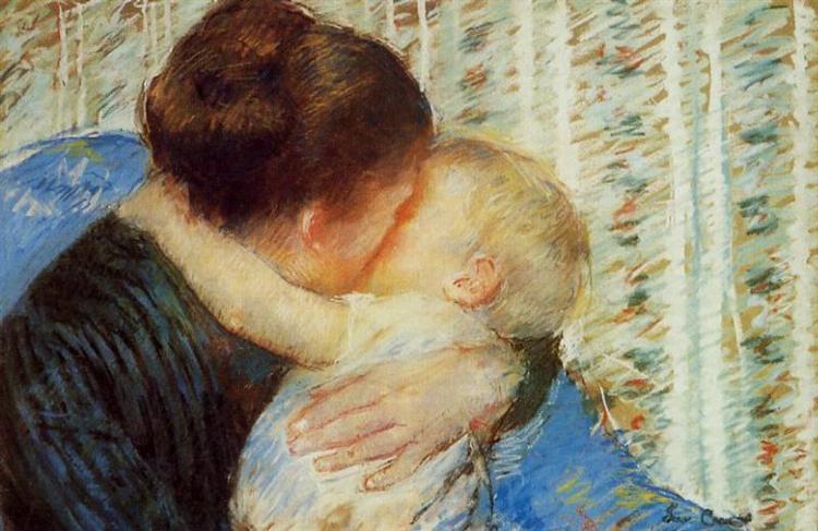Mother and Child, 1880 - Mary Cassatt