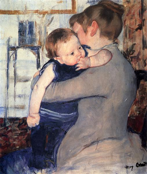 Mother And Child, 1889 - Mary Cassatt