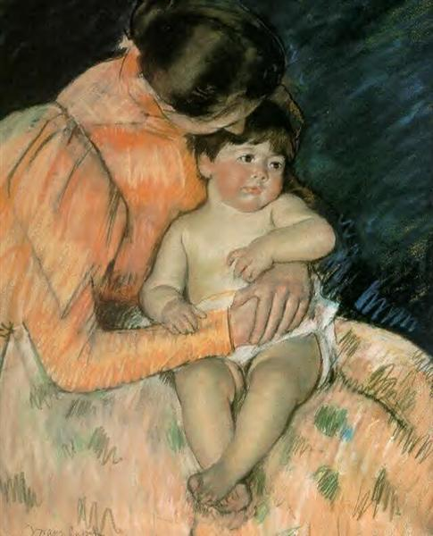 Mother and Child, 1890 - Mary Cassatt
