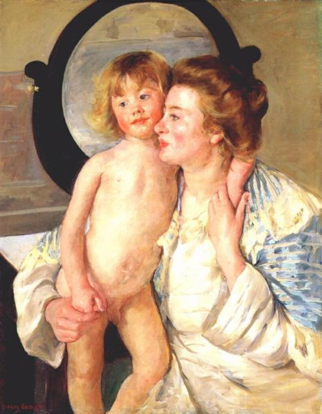Mother and child, 1898 - Mary Cassatt