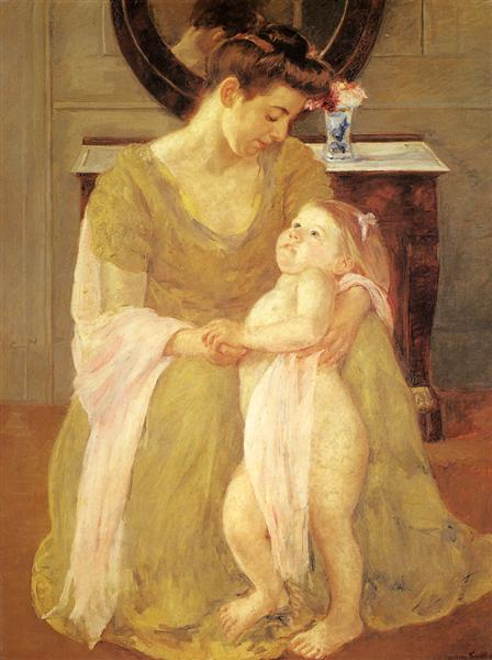 Mother And Child, 1908 - Mary Cassatt