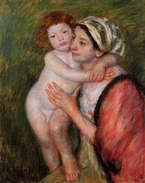 Mother and Child, 1914 - Mary Cassatt