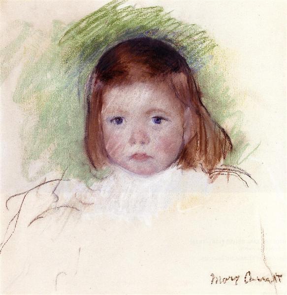 Portrait of Ellen Mary Cassatt, c.1898 - Mary Cassatt