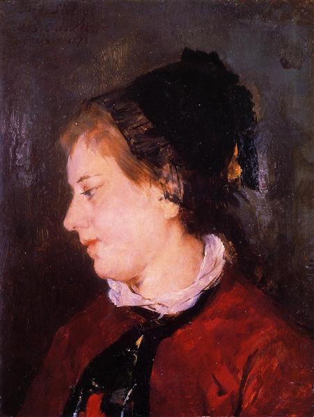 Portrait of Madame Sisley, 1873 - Mary Cassatt